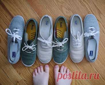 Que arreglar el olor del sudor del calzado en las condiciones de casa