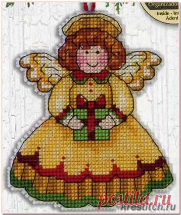 Angel - Ангел (арт.70-08893 Dimensions) набор для вышивания крестом купить в Stitch и Крестик