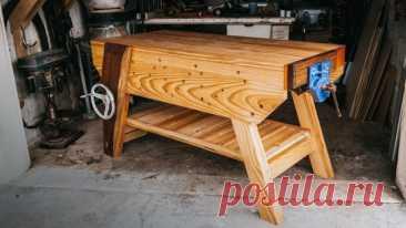 Самодельные верстаки Верстак - ключевая деталь столярной мастерской. Без него сложно изготавливать качественные изделия из дерева. В разделе «Верстак» множество конструкций с подробным описанием для самостоятельного изготовления.