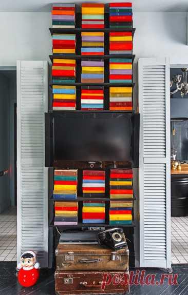 Как дизайнер оформила крошечную квартиру для себя. Градус креатива зашкаливает😏 Убедитесь сами! | INMYROOM.RU | Яндекс Дзен