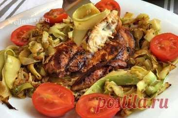 Паста из кабачков с курицей: рецепт с фото и видео