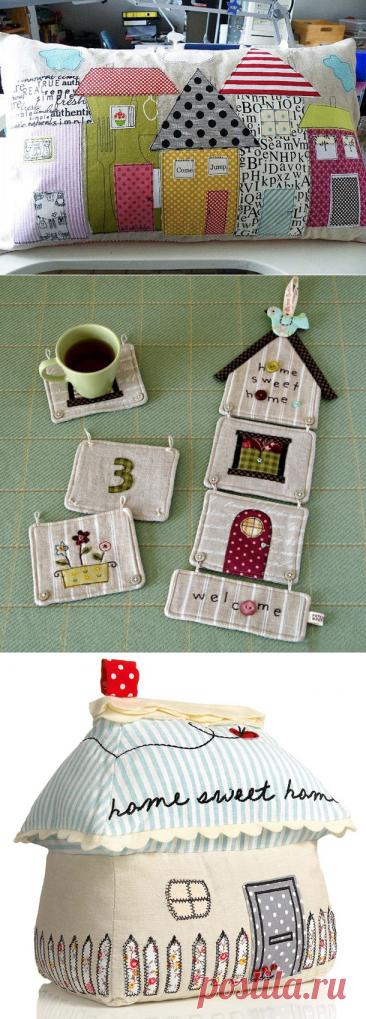 Текстильные домики: такие милые и уютные | Журнал Ярмарки Мастеров