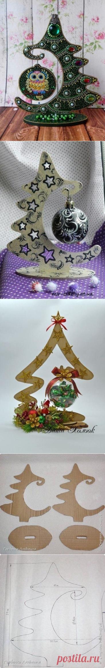 Необычные новогодние украшения для интерьера. Шаблоны прилагаются
