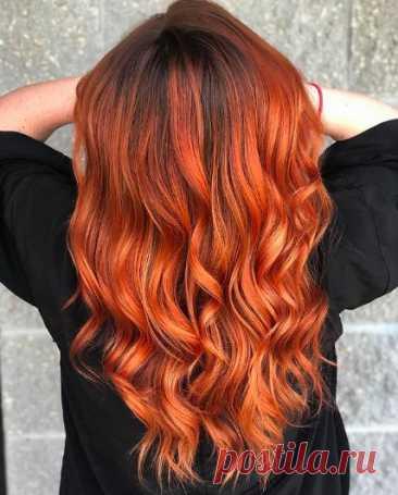 Оранжевая краска для волос: за и против это | Путь к осознанности