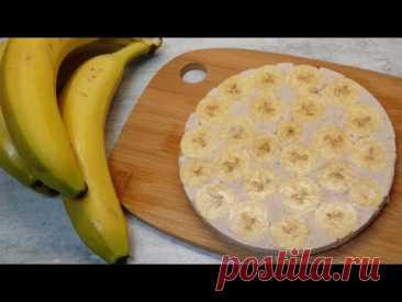 Бананово-Сливочная прослойка для Торта | Начинка для муссовых и бисквитных тортов