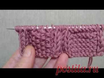 Проще не бывает! Отделка края вязания полым шнуром. 2 варианта. I-cord