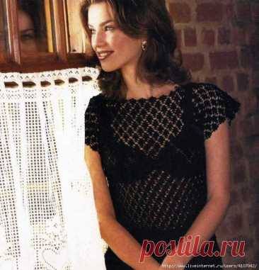 knitting hook of a blouse | Records with a tag knitting hook of a blouse | the Diary Liudmila_Sceglova