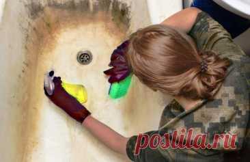 Как сделать из старой и грязной ванны белоснежную и новую за 6 - 7 минут. Простой и дешевый метод | Дачный СтройРемонт | Яндекс Дзен