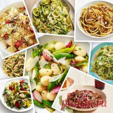 Рецепты пасты для весеннего ужина