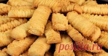 Песочное печенье на майонезе - На Кухне