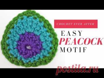 Motif of the Month November 2013 Peacock Motif
