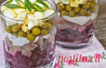 Вкусный и яркий финский салат