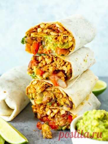 Куриное буритто: Аппетитно, вкусно и незабываемо: порадуйте завтраком или ужином свою семью! - Odnaminyta - медиаплатформа МирТесен