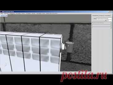 Воздухоотводчик и заглушка на радиаторах
