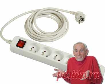 Самая опасная часть электрики в доме: удлинители и как ими правильно пользоваться | Электрика для всех | Яндекс Дзен
