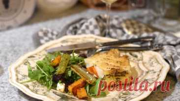 Салат со свеклой, сельдереем, тыквой баттернат и фетой - Cooking Palette