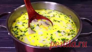 Быстрый и простой грибной суп! Рецепт просто ШЕДЕВР!