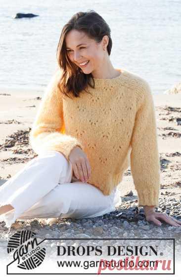 Джемпер Sunshine Impressions - блог экспертов интернет-магазина пряжи 5motkov.ru
