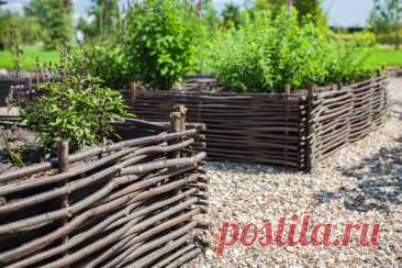Фотоохота: 72 идеи для ограждения грядок Придаем огороду аккуратный и завершенный вид и изучаем, как сделать ограждение для грядок