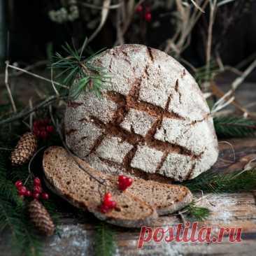 El pan de centeno Holsteiner Landbrot alemán