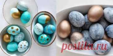 Как украсить пасхальные яйца: новые, интересные, необычные способы - Уголок хозяйки - медиаплатформа МирТесен