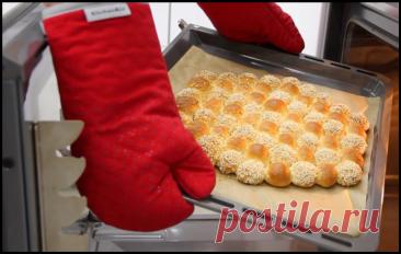 Пузырчатый хлеб с двумя видами молока и без яиц: мягкий, воздушный и по вкусу как молочный батон!.