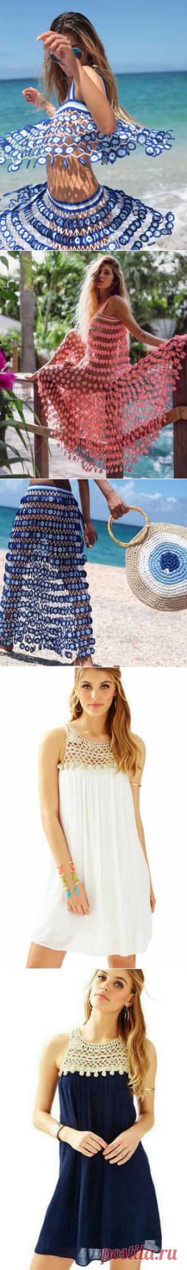 Необычные идеи для пляжа. Вяжем крючком. | Магия творчества | Яндекс Дзен