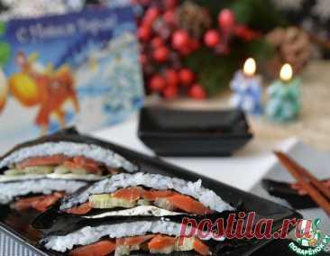 Закуска для любителей суши – кулинарный рецепт