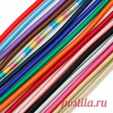 3 веревки (шероховатость 5 мм в длину 45 см) Шелковый шнур ручной работы для ювелирных изделий с полым каучуком для оформления   Украшения и аксессуары   АлиЭкспресс