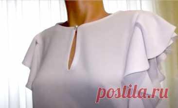 Разрез-капелька в легких тканях (Шитье и крой) – Журнал Вдохновение Рукодельницы