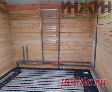 Монтаж отопления в деревянном доме, фото 812