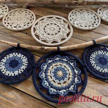 Невероятно красивая техника создания плетеных полотен и аксессуаров – техника макраме от настоящего мастера