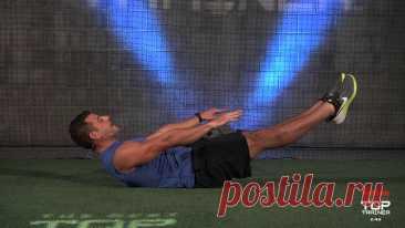 Упражнения, которые заставят работать каждую мышцу пресса!