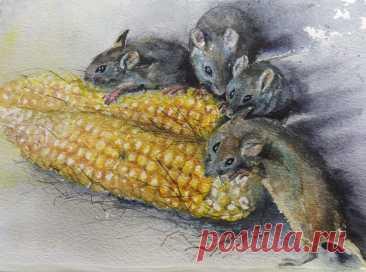 Животные в живописи и графике | Facebook