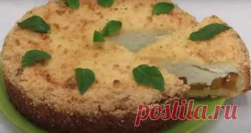 Нежный творожный пирог к чаю - Вкусные рецепты - медиаплатформа МирТесен