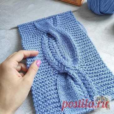 Очень красивая коса для любителей вязания.  У нас еще много интересногоhttps://zhurnal.rykodelniza.ru/ .