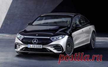 Электрический лифтбек Mercedes-Benz EQS 2022: фото, цена, характеристики