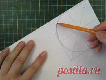 Как построить шестиугольник без циркуля