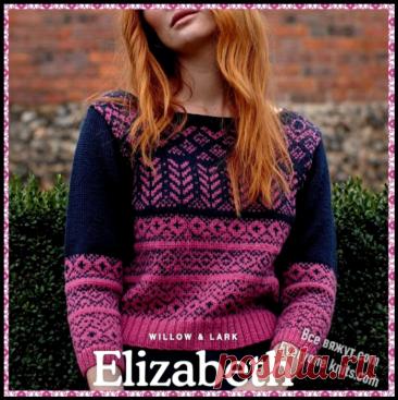 Три модных пуловера из новых журналов (октябрь 2021) спицами