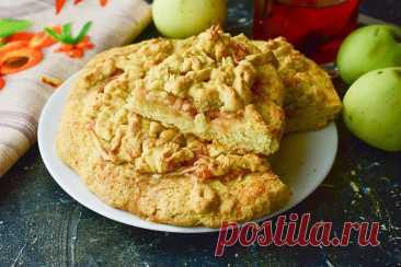 Яблочный пирог в духовке - 11 вкусных и простых рецептов с фото