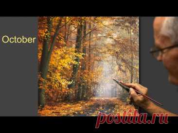 """October"" Acrylic. Artist - Viktor Yushkevich. #83 photos in 2021."