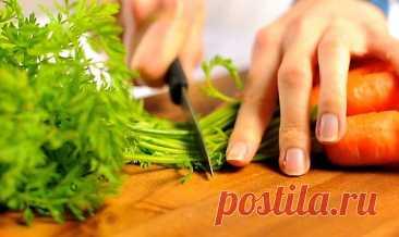 Морковную ботву не выбрасываю, так как она не менее полезна, чем сам корнеплод Морковь – один из самых популярных овощей, активно применяющихся в кулинарии. Без морковки не обходится ни одна хозяйка – ее не только жарят, тушат и запекают, но и используют для приготовления витаминных соков и различных смузи. Не так давно я узнала об одном очень интересном факте, а именно, о том, что ботва моркови содержит в […] Читай дальше на сайте. Жми подробнее ➡