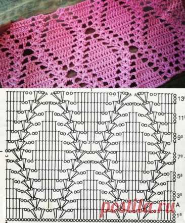 Scheme of a pattern hook