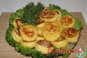 Картофельные пирожки с сыром Кулинарный рецепт