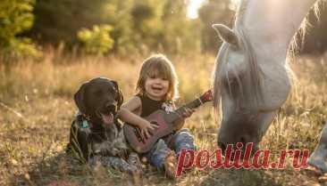 Домашнее животное для ребенка | Психология