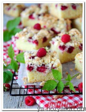 Пирог из сезонных ягод рецепт. Пирог крошка с ягодами Сезонные фрукты идеально подходят для домашней выпечки. Каждая хозяюшка хранит в своем арсенале рецепт простого и быстрого в приготовлении пирога, подобного предложенной вариации с их участием. Сегодня это малина!