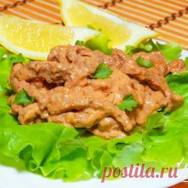 Мясо в пикантном соусе - пошаговый рецепт с фото на Готовим дома