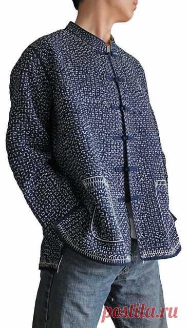 Сашико: японское искусство вышивки. Мастер-класс и идеи