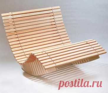 Кресло-качалка для двоих своими руками