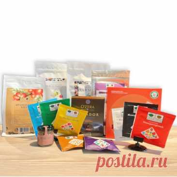 Купить Комплект ко Дню Учителя №41382 из чая в пирамидках, весового и в сашетах, кофе свежей обжарки